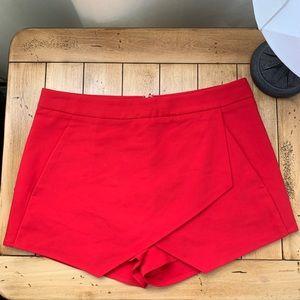 Express Red Skort with Pockets!